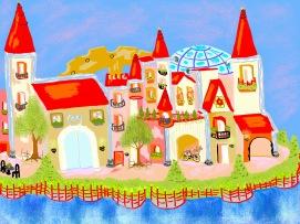 CSK book illustration - Castle