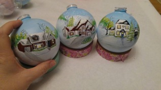 Your home on a Christmas ornament